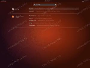 Ubuntu Remote Desktop - Sharing Settings