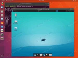 Ubuntu VNC server - 18.04 Bionic Beaver