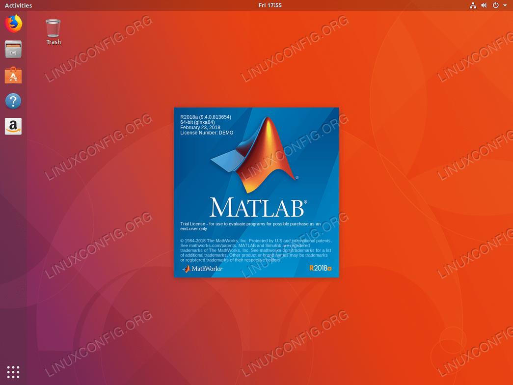 install matlab ubuntu 18.04 - Matlab is starting.