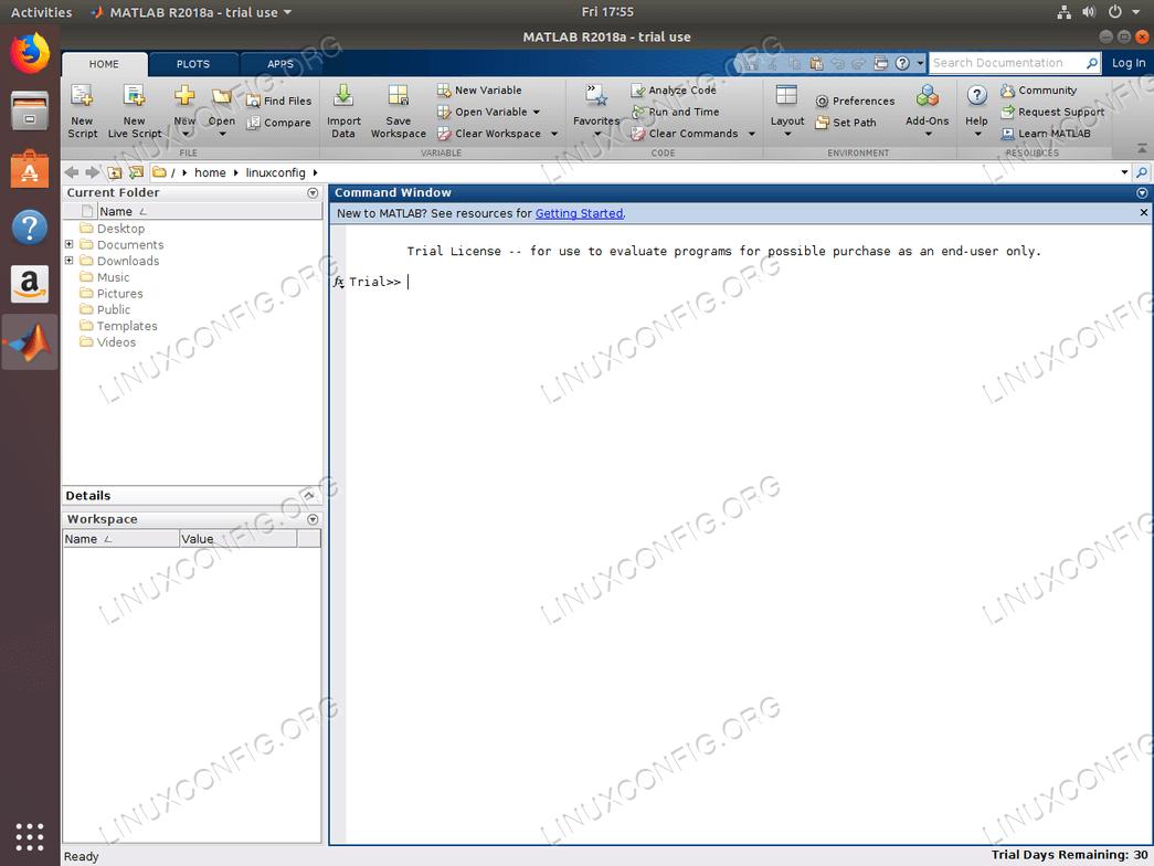 install matlab ubuntu 18.04 - Matlab installation on Ubuntu 18.04 is completed