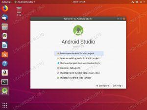 Android Studio running on Ubuntu
