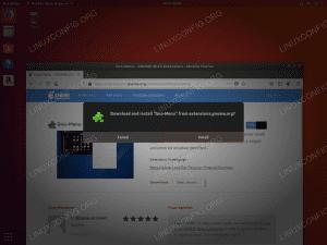 install gnome start menu - Ubuntu 18.04