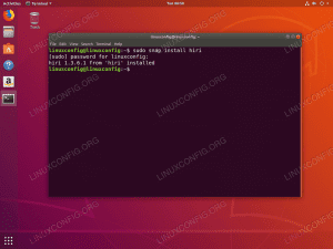 hiri email client install on Ubuntu 18.04