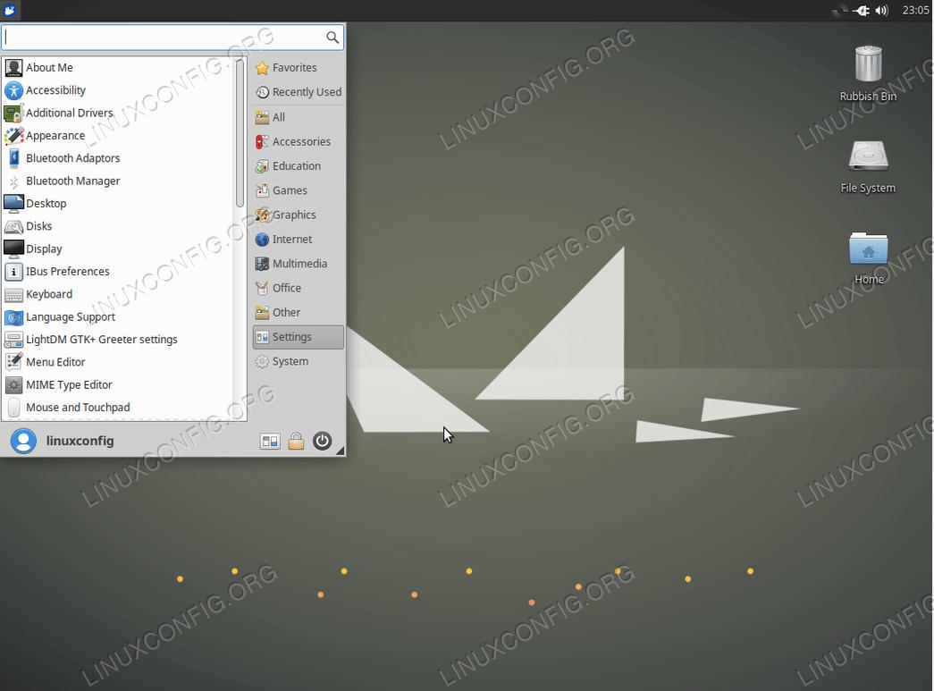 Xubuntu Desktop on Ubuntu 18.04