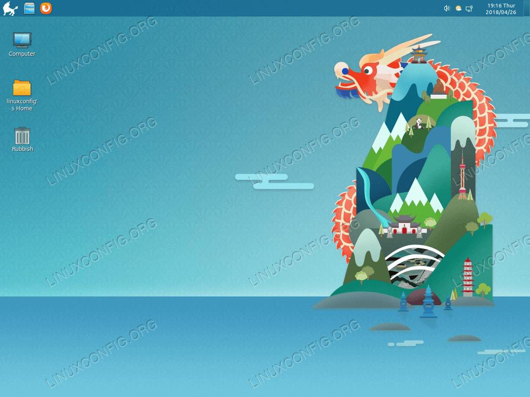 Kylin Desktop on Ubuntu 18.04 Bionic Beaver Linux