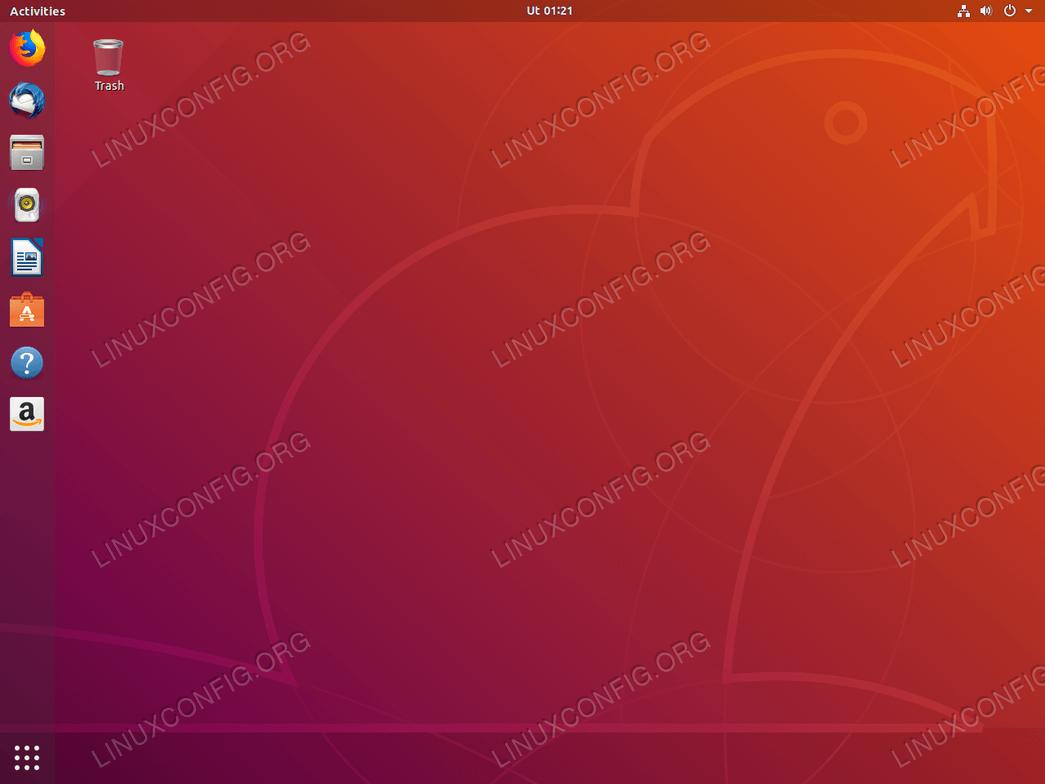 Ubuntu 18.04 desktop