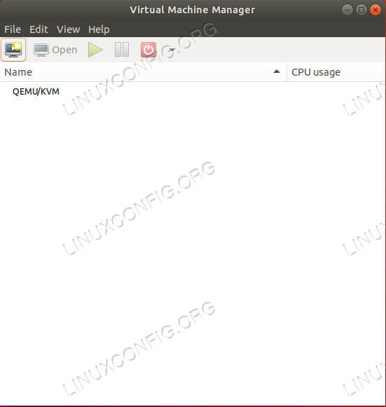 Virt-Manager On Ubuntu 18.04