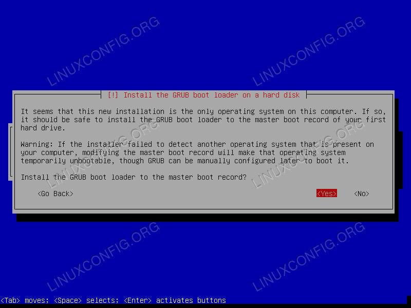 Kali Linux Install GRUB
