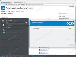 NextCloud client installation on Ubuntu 18.04 Linux