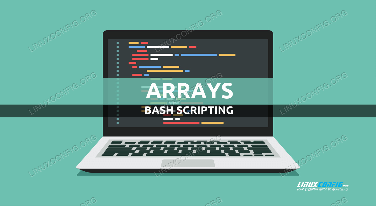 How to use bash array in a shell script