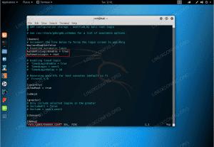 Kali Linux autologin configuration