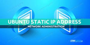 Ubuntu Static IP configuration