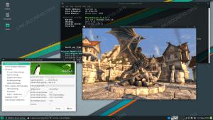 Installed NVIDIA drivers on Manjaro 21 Linux.