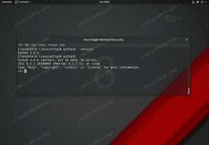 Python 3 installation on Red Hat Enterprise Linux 8