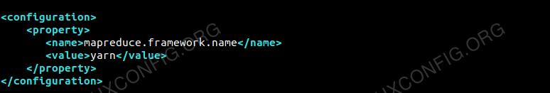 Configuration For mapred-site.xml File