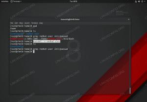 Deleting user on RHEL 8 / CentOS 8.