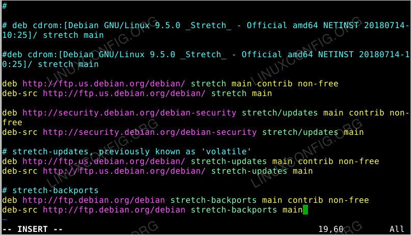 Add The Debian Backports Repository