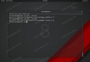 Python package management system (pip) on Red Hat Enterprise Linux 8.