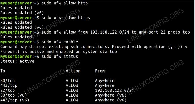 Ubuntu UFW