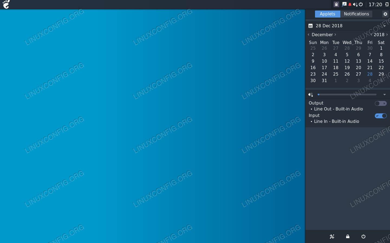 Budgie Desktop on Debian