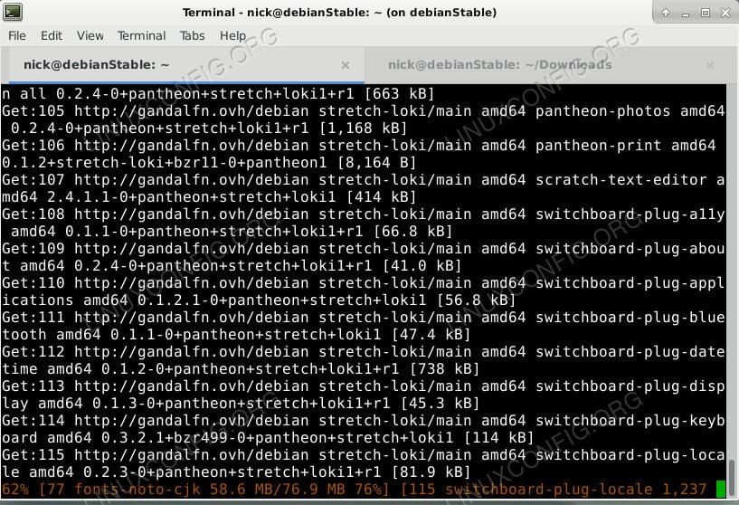 Install Pantheon Desktop on Debian