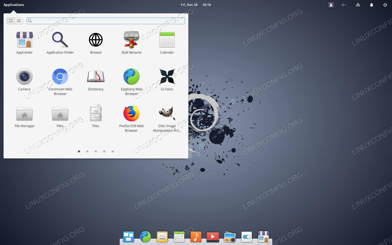 Pantheon Desktop on Debian