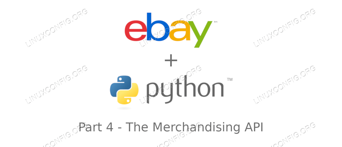 Introduction to Ebay API with python: The Merchandising API - Part 4
