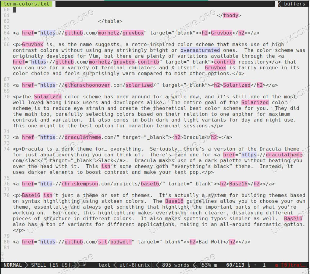 PaperColor Terminal Color Scheme