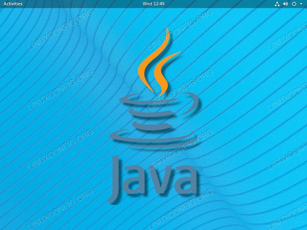 Java on RHEL 8