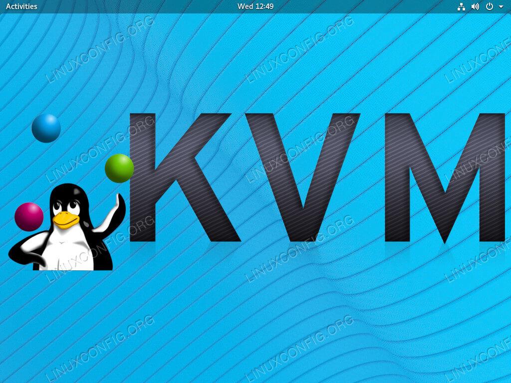 Install KVM on RHEL 8 / CentOS 8