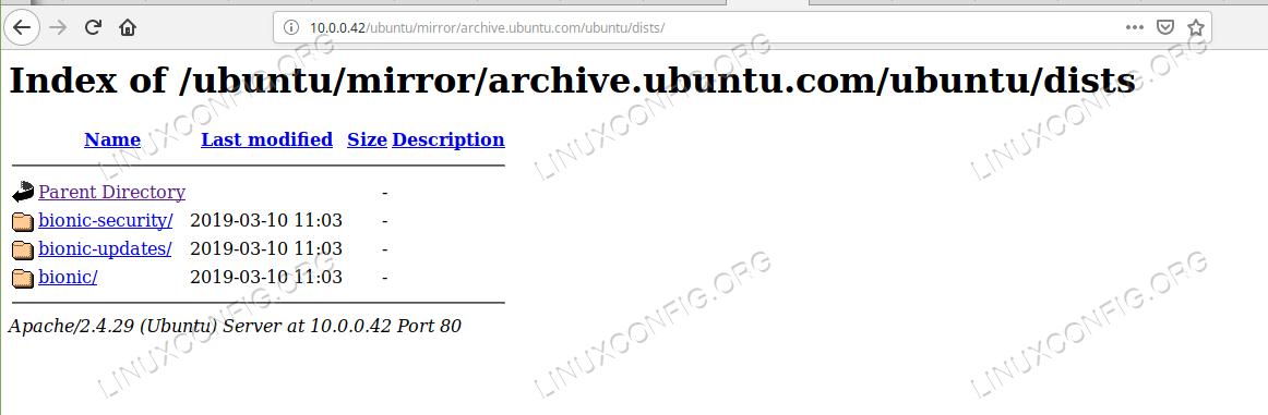 Server local repositories