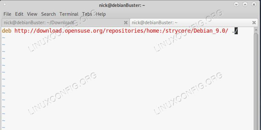 Add the Lutris Repo on Debian 10