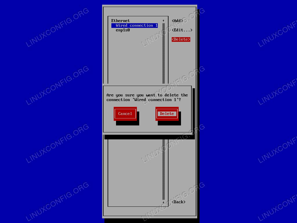nmtui-delete-connection