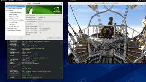 Installed Nvidia drivers on CentOS 8 Linux GNOME Workstation