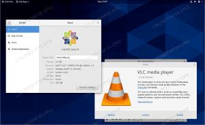 VLC Player messenger on CentOS 8 / RHEL 8 Linux