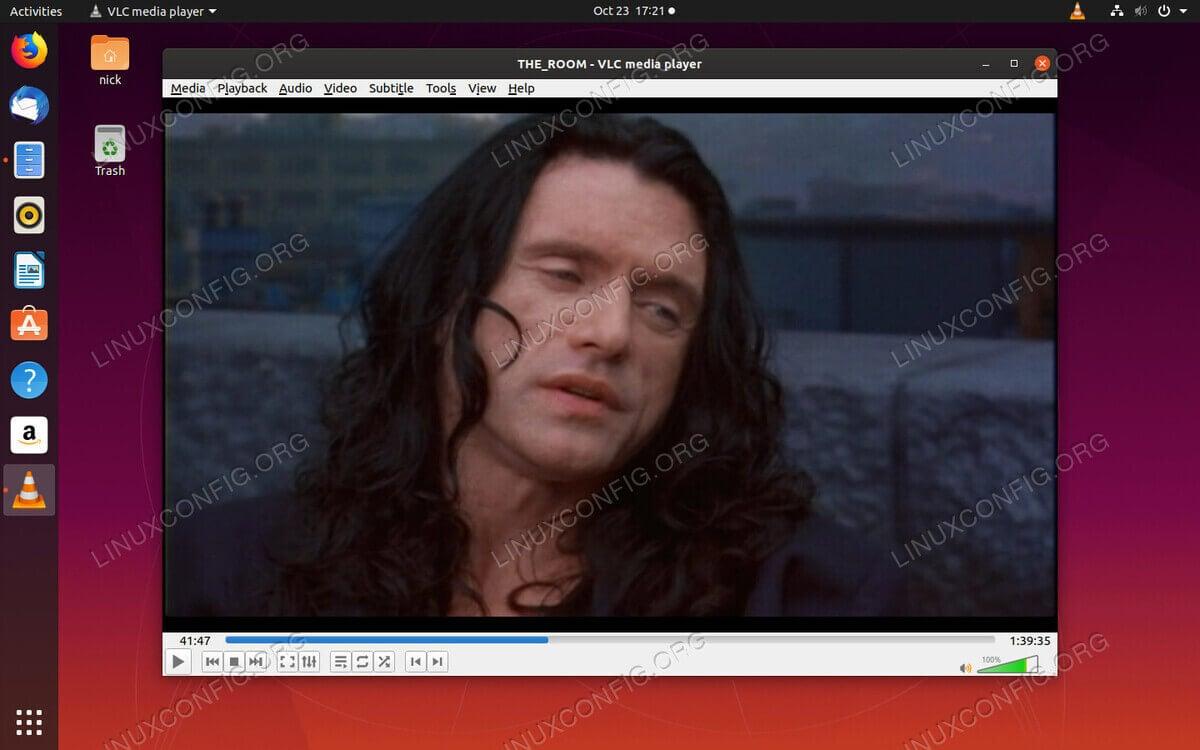 Ubuntu VLC Player