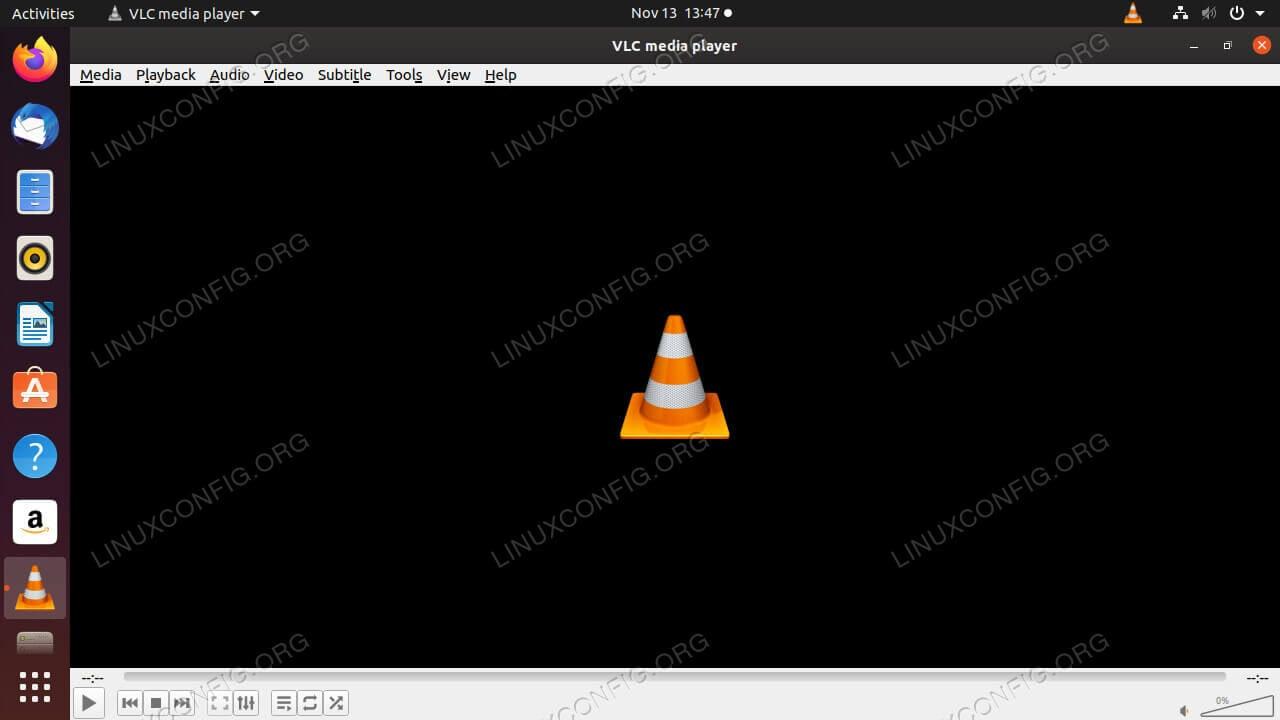 VLC on Ubuntu