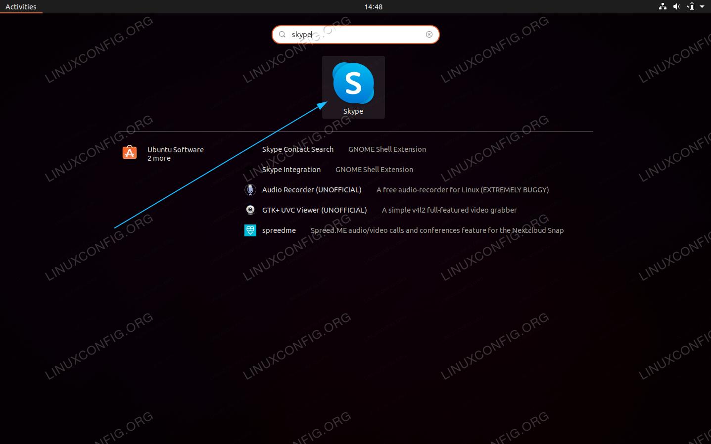 Start Skype on Ubuntu 20.04 Focal Fossa Linux