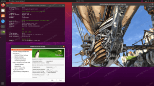 Installed NVIDIA drivers on Ubuntu 20.04 Focal Fossa Linux
