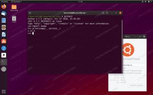 Numpy on Ubuntu 20.04 Focal Fossa Linux