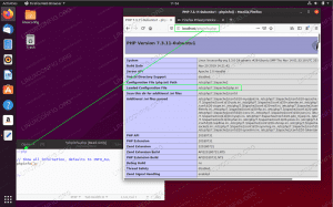 Find the location of php.ini on Ubuntu 20.04 Focal Fossa Linux