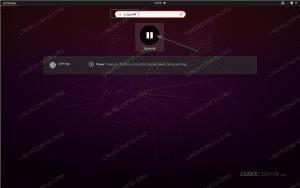 How to suspend Ubuntu 20.04 Focal Fossa Linux Desktop