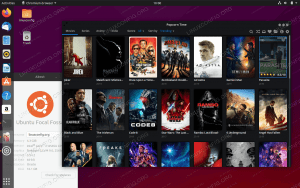 Popcorn Time movie player on Ubuntu 20.04 LTS Focal Fossa