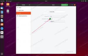 Enabled Automatic Login on Ubuntu 20.04 Focal Fossa