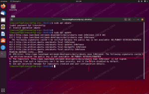 Ubuntu 20.04 GPG error: The following signatures couldn't be verified