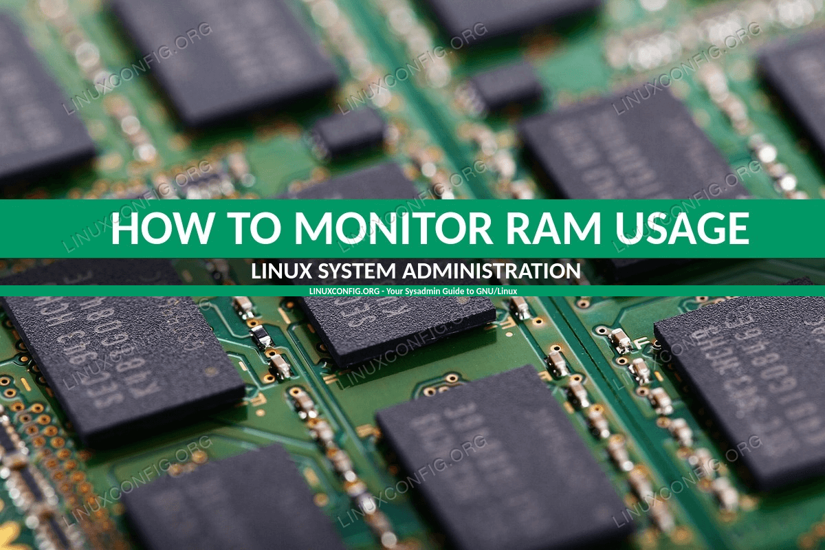 How to Monitor RAM Usage on Linux