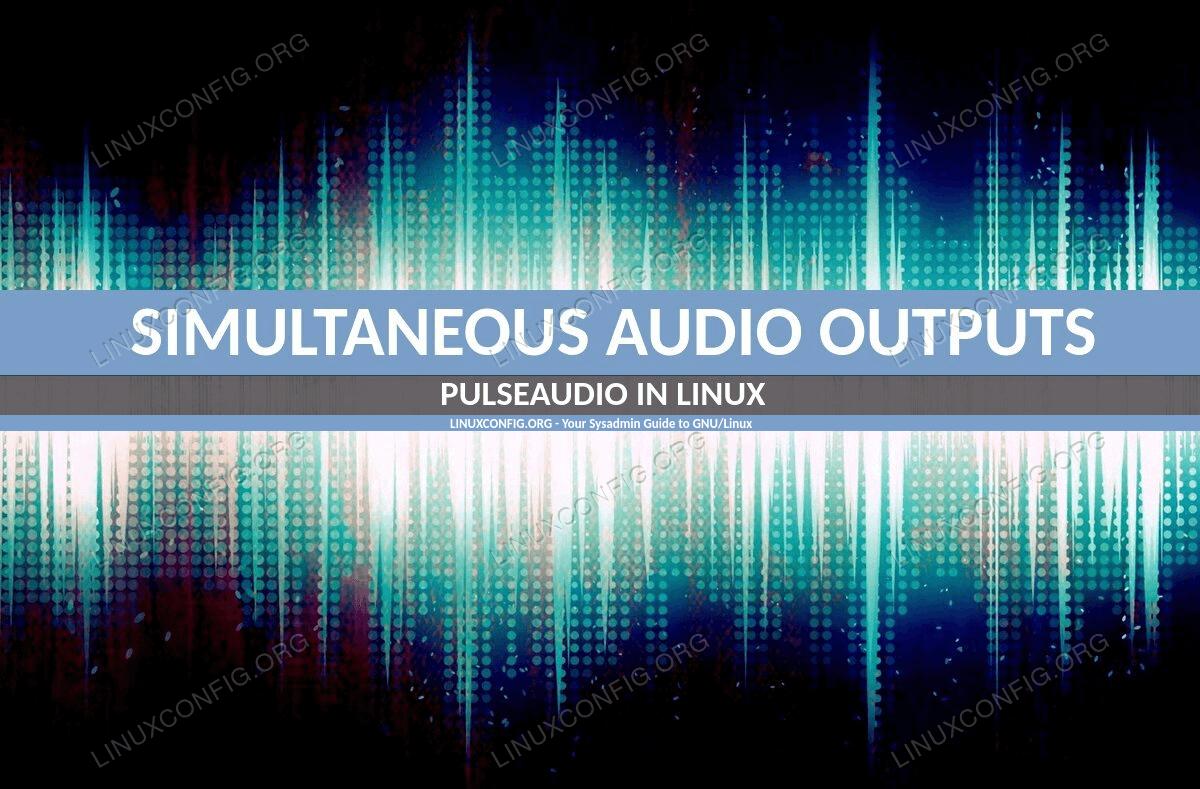 Pulseaudio in Linux.