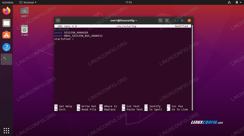xstartup configuration file