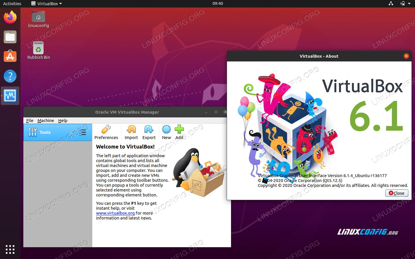 VirtualBox on Ubuntu 20.04 Focal Fossa Linux
