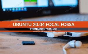 Install Ubuntu from USB - 20.04 Focal Fossa